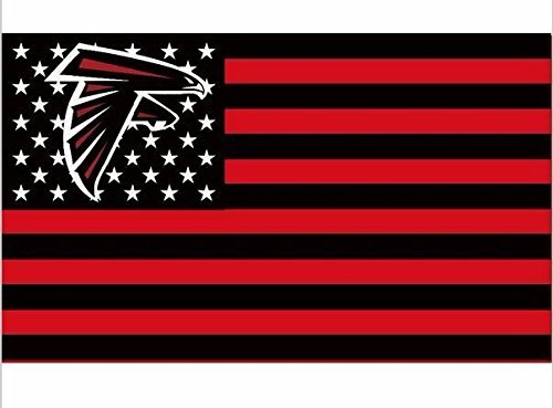 Atlanta Falcons Pins - NFL Atlanta Falcons Stars and Stripes Flag Banner - 3X5 FT
