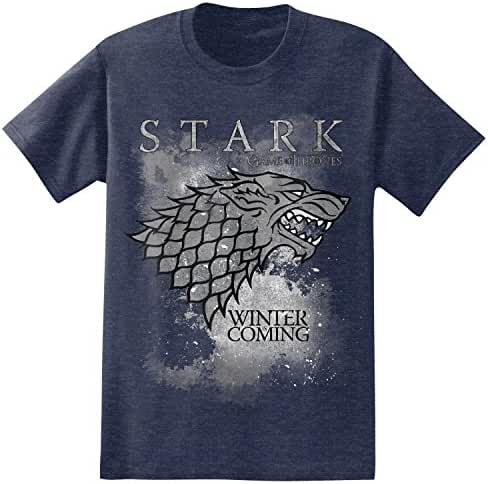 HBO'S Game of Thrones Men's Winter Is Coming Stark T-Shirt