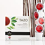 Tazo Awake English Breakfast Black Tea K-Cups, 96 Count