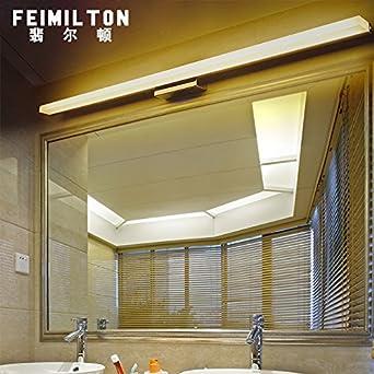 XiangMing Die lange Leiste led wc Badezimmer Spiegel vorne Licht ...