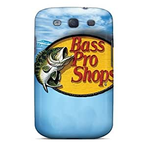 For Wade-cases Galaxy Protective Case, High Quality For Galaxy S3 Bass Pro Shops Skin Case Cover
