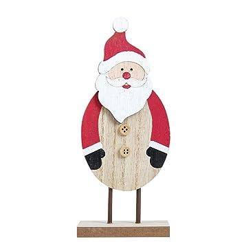 Amazon.com: Sixpi - Mini árbol de Navidad de madera para ...