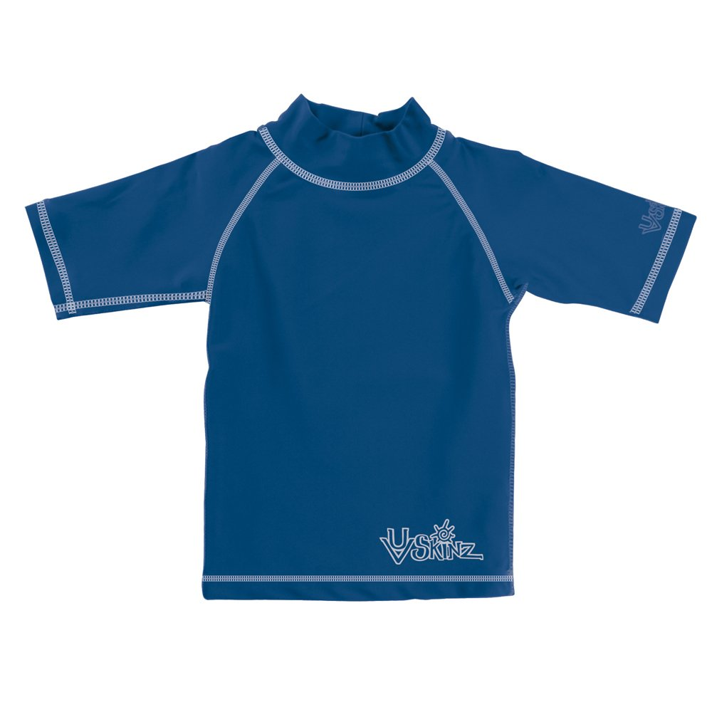UV Skinz UPF 50+ Boys Short Sleeve Sun & Swim Shirt