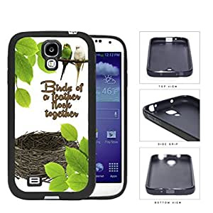 Birds Of A Feather Flock Rubber Silicone TPU Cell Phone Case Samsung Galaxy Note 2 II N7100