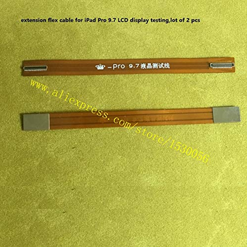 Gimax extension flex cable for iPad Pro 9.7 LCD display testing,lot of 2 pcs