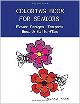Amazon Coloring Book For Seniors