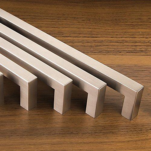 E8 Möbelgriffe ECHT EDELSTAHL Stangengriff Küchengriffe Stangengriffe Griffe