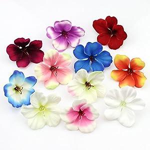 YUDX121 100pcs/lot Spring Silk Orchid Artificial Flower Heads Gladiolus Cymbidium Flowers for Wedding Decoration 12
