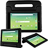 Bolete Case for LG G Pad X 8.0 Inch - Kids Shock Proof Convertible Handle Light Weight Super Protective Stand Cover for LG G Pad X 8.0 T-Mobile V521 / AT&T V520 Tablet,Black