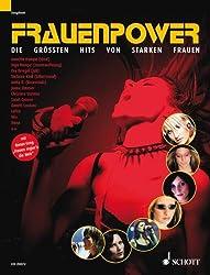 Frauenpower: 17 Hits von starken Frauen. Klavier, Gesang und Gitarre. Songbook.