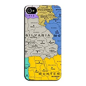Greater Romania Other Greater Romania For Iphone 5/5s Silver TPU Protective Case
