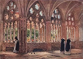 Amazon.com: The cloisters, Oviedo, Spain, by William Wiehe ...