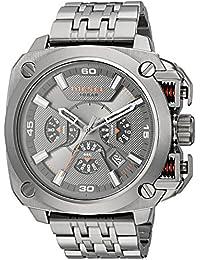 Men's DZ7344 Gunmetal-Tone Stainless Steel Watch
