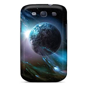 New SGTkq2379nBWfS Earth Skin Case Cover Shatterproof Case For Galaxy S3