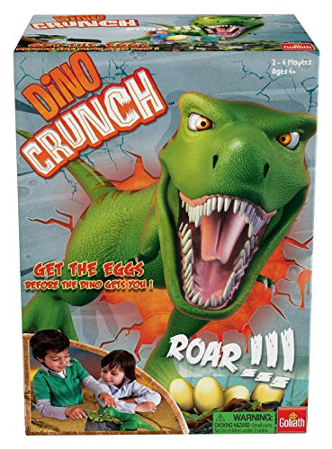 Dino Crunch by Goliath - Get The Eggs Before The Dino Gets You! by Goliath, Multi Color