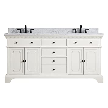 Amazon.com: Azzuri Hastings 73 in. Double Sink Vanity: Home & Kitchen