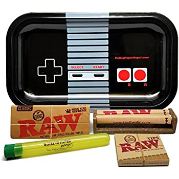 Amazon Com Raw Rolling Tray 110mm Raw Roller Raw King