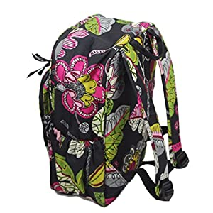 Vera Bradley Women's Lighten Up Medium Backpack Moon Blooms Backpack