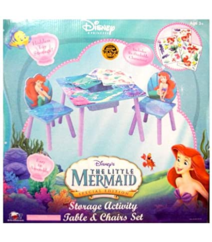 Amazon.com: Disney The Little Mermaid Furniture Set - Princess Ariel ...