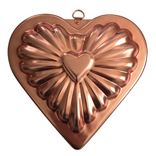 Copper Valentine Heart Shaped Jello