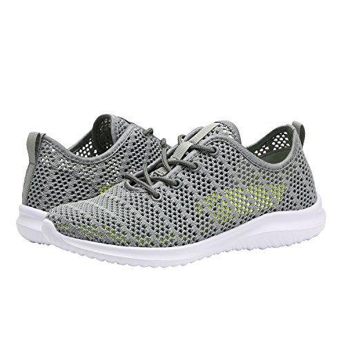 Grey YILAN 6 Women's Sport Flexible Fashion Shoes Casual Sneakers wwUFPaq