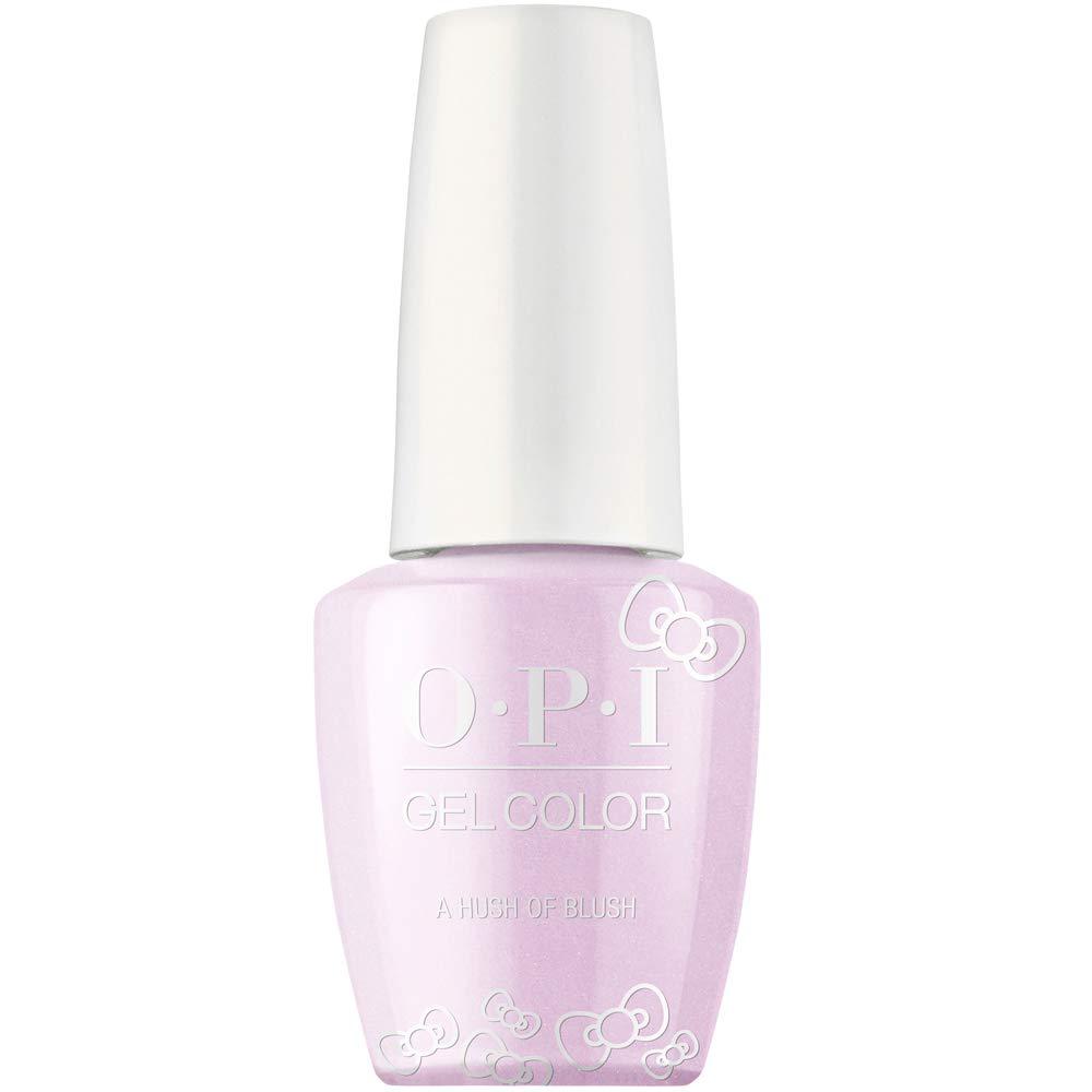 Opi Hello Kitty Gel Nail Polish Collection Gel Color A Hush Of Blush