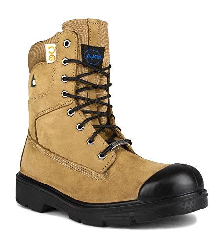 77613e62cba71b Acton Canada Safety/Work Boot Leather Prolite Certified CSA A9045-12 Steel  Toe 8