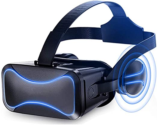 AA-Virtual Reality Smartphones de Gafas 3D de Cabeza montada VR ...