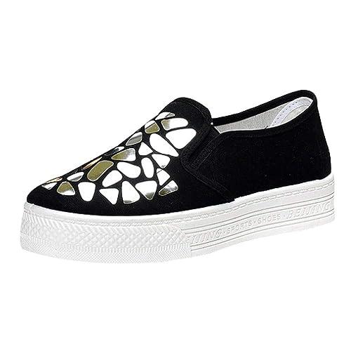 SOMESUN scarpe Con Paillettes da Donna Ginnastica Sportive