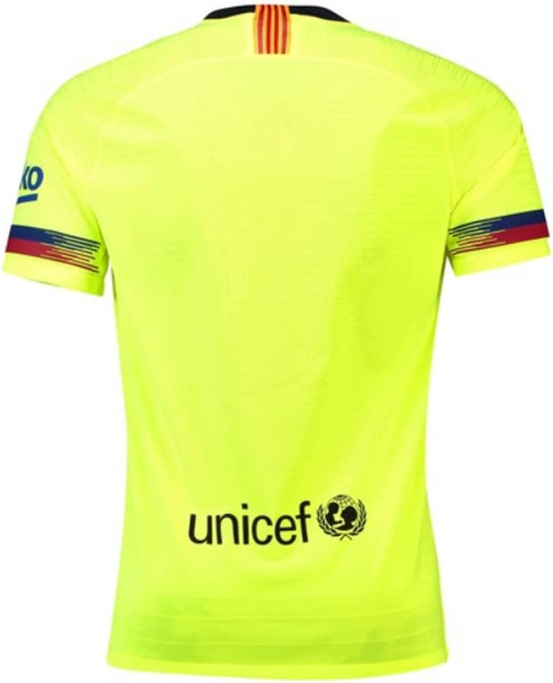 Nike Barcelona 2ª Camiseta Vapor Match 18/19 Color Amarillo Fluor ...