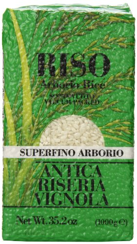 Vignola Arborio Rice Antica Riseria, 2.2 Pound (Pack of 12) by Vignola