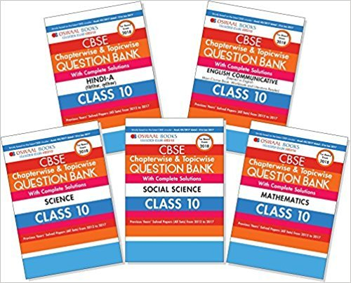 Read Online Oswaal CBSE Chapterwise and Topicwise Question Bank with Complete Solutions (Previous Years' Solved Papers From 2012 to 2017 All Sets) of Hindi A, English Communicative, Science ebook