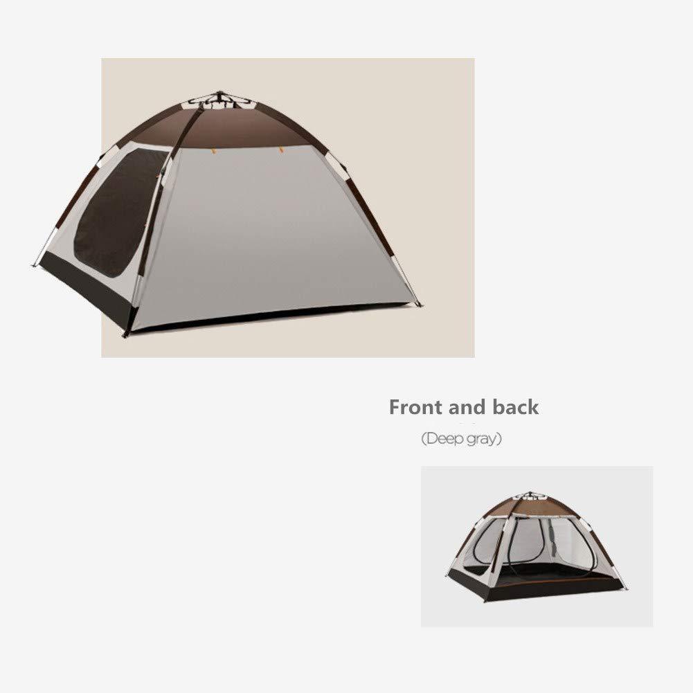 HUIYUE Campingzelt,Outdoor Angeln Zelten,Automatische Geschwindigkeit Zelt öffnen,3-4 Personen Regendichte Windproof Portable Outdoor-Reisen Zelte