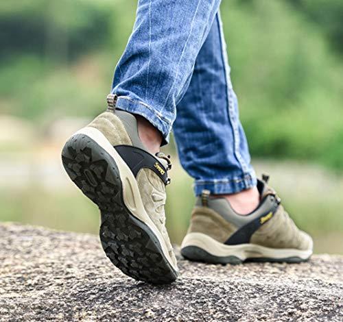 Zapatos Además Caminatas Al Hrn Aire Para Engrosamiento Khaki Con Casual Cálidos Antideslizante E Libre Otoño Terciopelo Invierno Cuero De Hombre dI8wqa8p