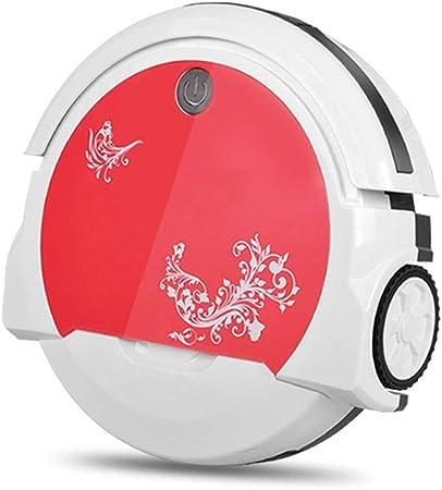 LAHappy Robot Aspirador,Aspira Y Friega A La Vez,Caja De Polvo 180ML,Sensores Que Evitan Choques Y Caídas,4 Modos De Limpieza,100 Min De Autonomía: Amazon.es: Hogar