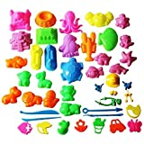 Mukool 46pcs Deluxe Mold Activity Set for Molding Sands