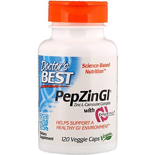 (Zinc-Carnosine Complex with PepZin GI - 120 ct)
