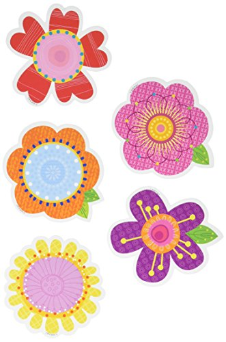 "Creative Teaching Press Springtime Blooms Cut Outs, 3"" (8087)"
