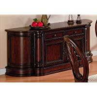 Cherry Finish Birch Wood Dining Room Buffet Server