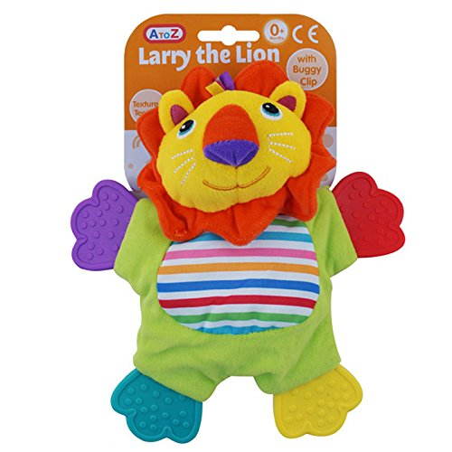 A to Z Larry the Lion Teether -