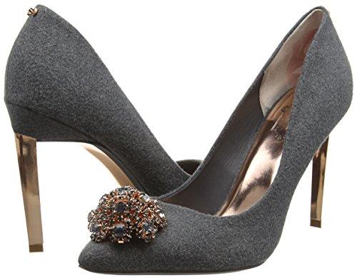 grey Gris Para Baker Ted De Tacón Peetch Mujer Zapatos 6nHa8