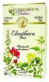 CELEBRATION HERBALS Ginseng Eleuthero Root Tea Organic 24 Bag, 0.02 Pound