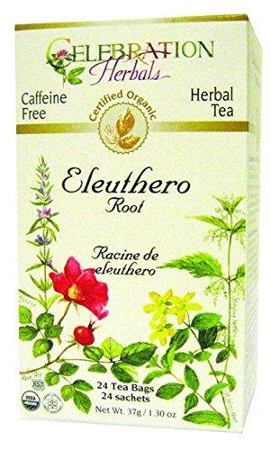 CELEBRATION HERBALS Ginseng Eleuthero Organic