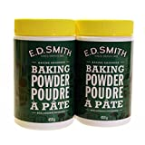 E.D. Smith Baking Powder 450g (2 pack) / Poudre à pâte 450g (paquette de 2)