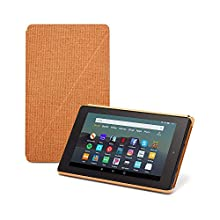 Fire 7 Tablet Case (Compatible with 9th Generation, 2019 Release), Desert Orange