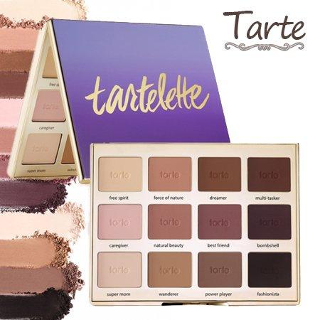 ジュース決定沈黙タルト Tarte Tartelette Amazonian clay matte palette アイシャドウ パレット 12色 【並行輸入品】