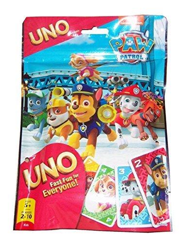 Paw Patrol Uno Card Game (Paw Patrol Game)