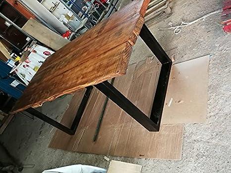 WAE tavolo in legno massello 6 CM di spessore di castagno con taglio ...