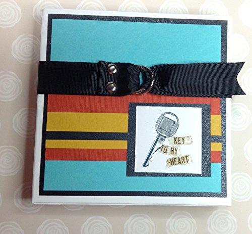CS Kit Keys to My Heart Photo Album / Mini Album / Mini Scrapbook