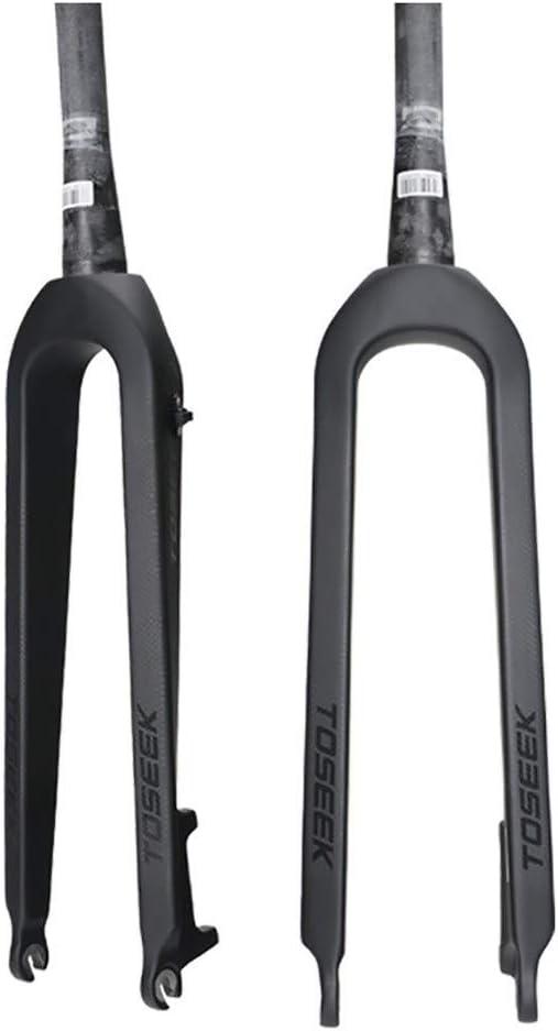 Horquillas Rígidas para Bicicleta MTB 26 27.5 29 Inch Ultraligero Fibra de Carbono Mountain Bike Horquilla de Suspensión: Amazon.es: Hogar